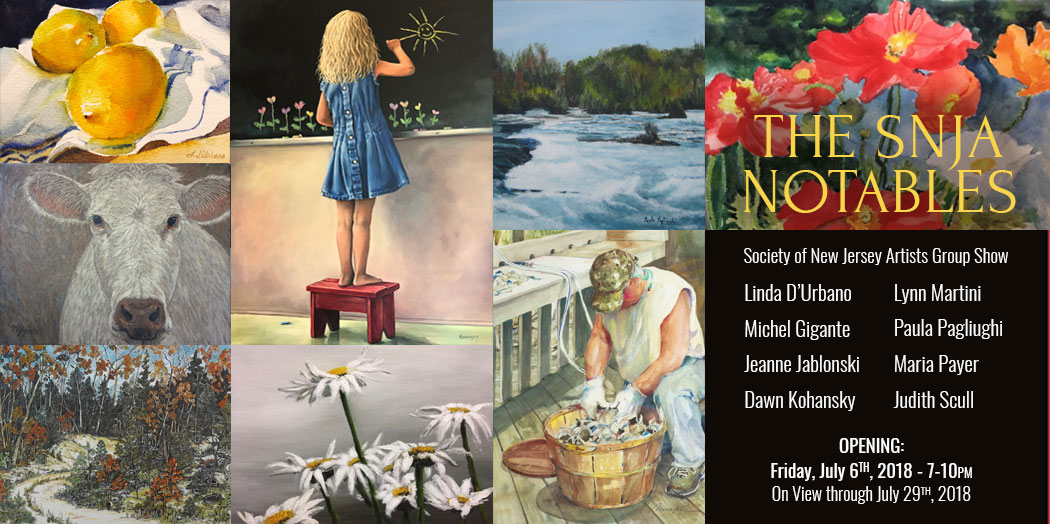 The SNJA Notables – Society of New Jersey Artists Group Show