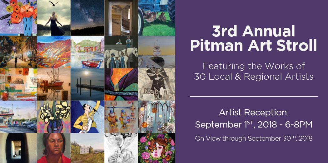 3rd Annual Pitman Art Stroll