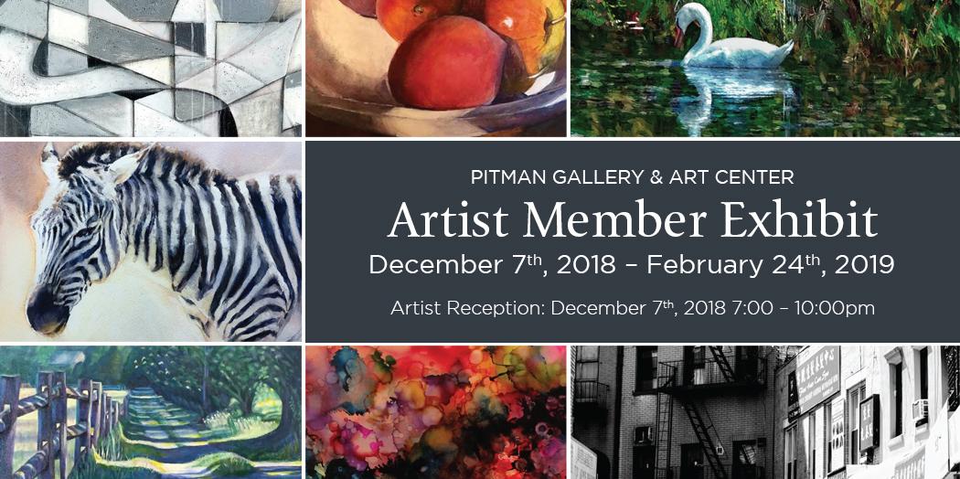 December 2018 Artist Member Exhibit