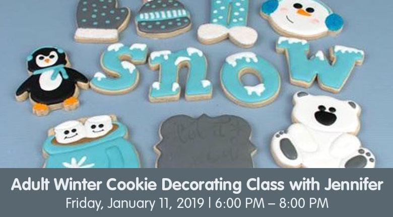 Adult Cookie Workshop