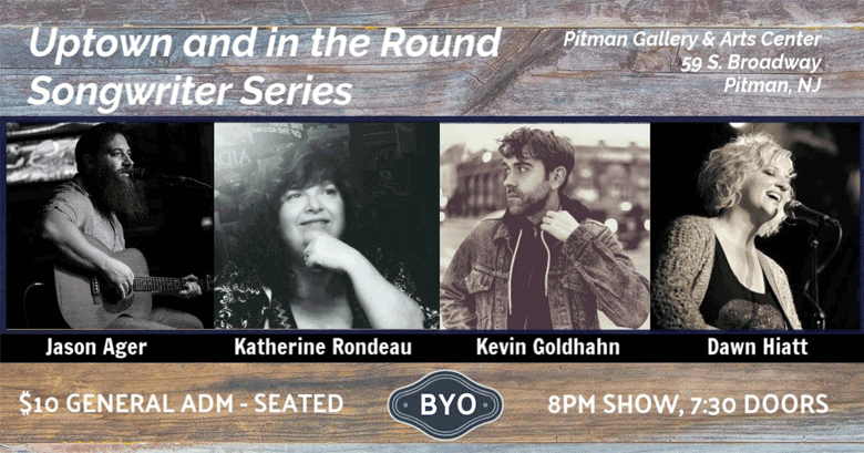 Uptown and in the Round: Pitman Songwriter Series