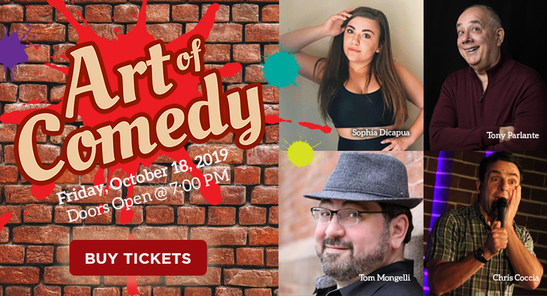 Pitman Gallery & Art Center - Art of Comedy Fundraiser
